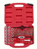 40PCS TAP AND DIE SET ALLOW STEEL METRIC SIZE